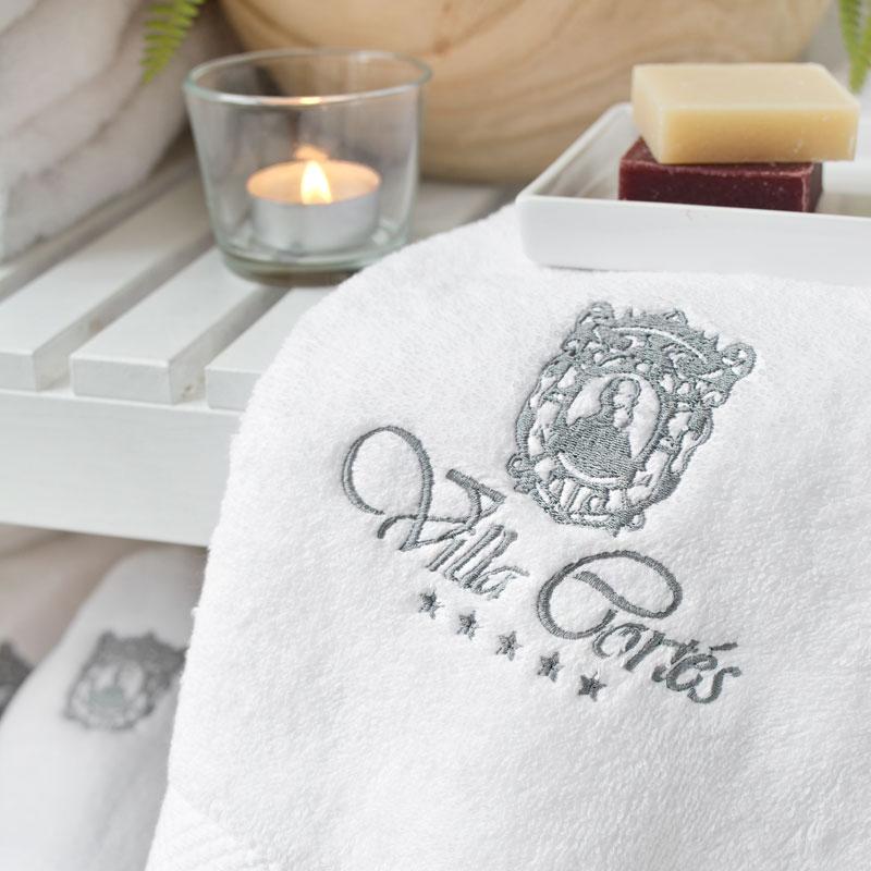 Toallas personalizadas para hoteles